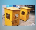 fiberglass guard room