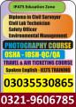 Civil Laboratory technician Course in rawalpindi Islamabad murree road Punjab
