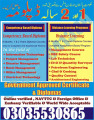 Govt MOFA Technical programs courses offered Diplomas Experience based Hotel Management course World Wide Acceptable with UK USA Pakistan