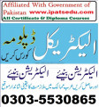 Electrical Technician Course In Rawalpindi  Islamabad Chakwal Jhelum Sahiwal Sargodha  Bahawalpur