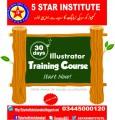 Adobe Illustrator Training Course with 5 STAR INSTITUTE, Best designing institute in islamabad