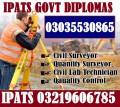 DAE Civil Associate Engineering 3 year Diploma Course World Wide Acceptable with UK/USA/Pak/U.A.E International Certifications in Rawalpindi, Islamabad, Pakistan.