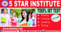 TOEFL Preparation Course with 5 STAR INSTITUTE ISLAMABAD