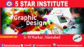 Graphic Designing Course with 5 STAR INSTITUTE ISLAMABAD