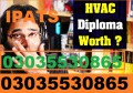 Heating, ventilation, and air conditioning (HVAC) Campus based Govt Diplomas Experience based diplomas Refrigeration And Air Conditioning Course (Domestic & Commercial)