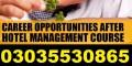 Hotel Management and Restaurant Management Dubai UAE CANADA UK MALAYSIA  approved training 03035530865