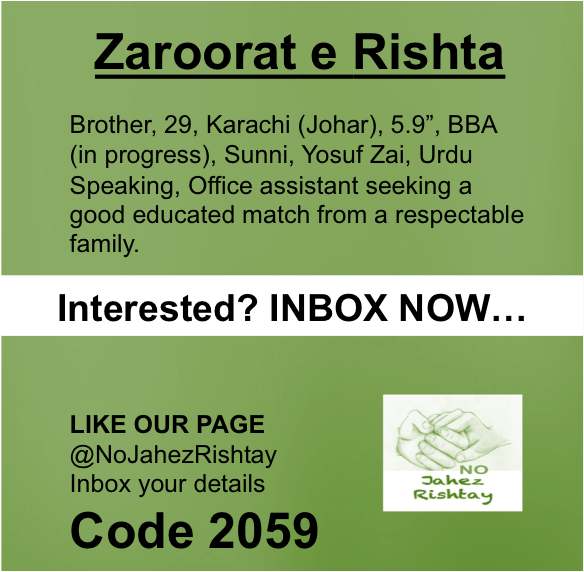 NJR Rishtay - Karachi Marriage Bureau Online in Karachi