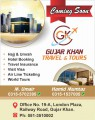 Gujar Khan Travel and tours