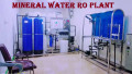 Commercial Mineral Water plant With Complete Set Up