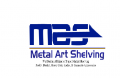 Metal Art Shelving