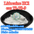 Lidocaine hcl,lidocaine hydrochloride,lidocaine hcl powder,cas 73-78-9,lidocaine hcl supplier in China