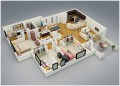 Floor Plan for Real Estate 3D